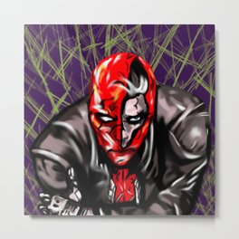 Under the Redhood Metal Print