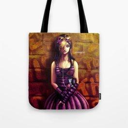 emo girl Tote Bag