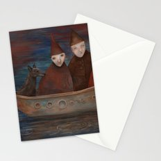 Displaced Stationery Cards