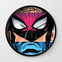 comic Wall Clocks featuring Comic by Molnár Roland