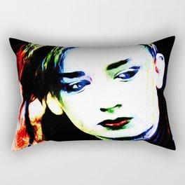Boy George - Karma Chameleon - Pop Art Rectangular Pillow