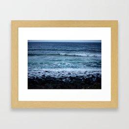 Ocean shades Framed Art Print