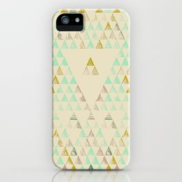 Triangle Lake iPhone Case