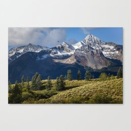 Telluride in the Fall Canvas Print