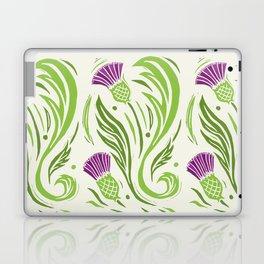 Thistles - Color PAttern Laptop & iPad Skin