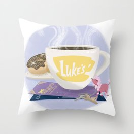 Only With My Oxygen Throw Pillow