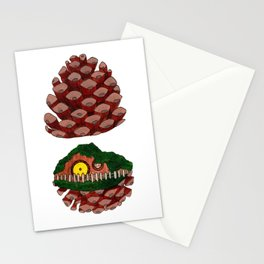 Home Sweet Pinecone Stationery Cards