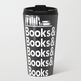 Books & Books & Books Travel Mug