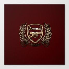 Arsenal Gold Design Canvas Print