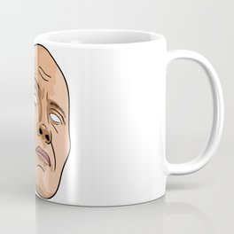 Dwayne Johnson - Head - No Eyes Coffee Mug