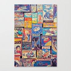 Toy Warp Canvas Print