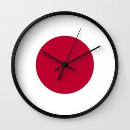 Flag of Japan, High Quality Image Wall Clock
