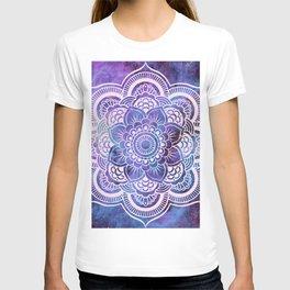 Galaxy Mandala Purple Lavender Blue T-shirt