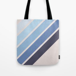 Blue Color Drift Tote Bag