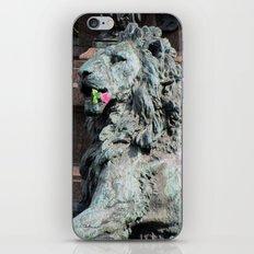 Lion in Vienna iPhone & iPod Skin