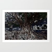 fig Art Prints featuring Fig by Shemaine