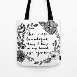 Beautiful Poppies Tote Bag