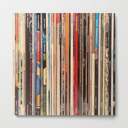 Blue Note Jazz Vinyl Records Metal Print