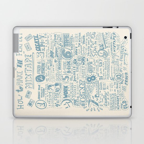 How to make the perfect mixtape Laptop & iPad Skin