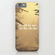 The earth has music  iPhone 6s Slim Case