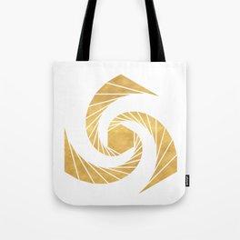 GOLDEN MEAN SACRED GEOMETRIC CIRCLE Tote Bag