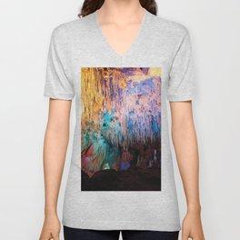 Rainbow Cavern Unisex V-Neck