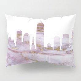 Indianapolis Skyline Indiana Pillow Sham