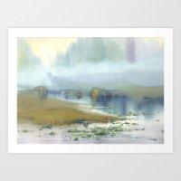 heaven Art Prints featuring Heaven by Ivanka Costru