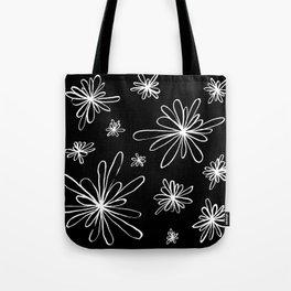 Energy Flowers Reverse Tote Bag