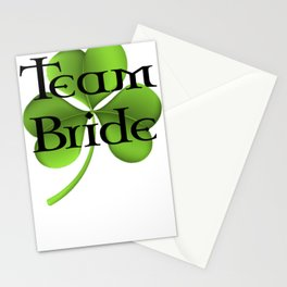 Team Bride Celtic Stationery Cards