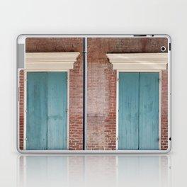 Brick and Blue Laptop & iPad Skin