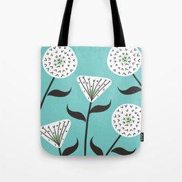 Large Print Dandelion Seeds Spring Summer Pattern Tote Bag