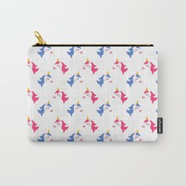 Sweet Unicorns Pattern Carry-All Pouch