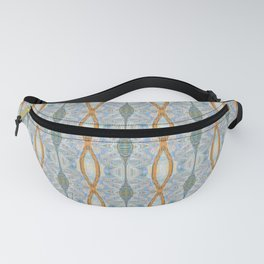 Elegant Dreamtime Indigenous Neo Tribal Boho Weaving Fanny Pack