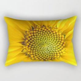 sunflower light Rectangular Pillow