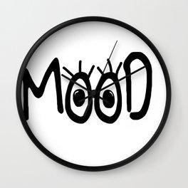 Mood #3 Wall Clock