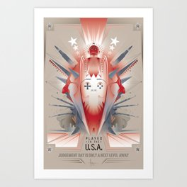 PLAYED inthe USA 2013 Art Print