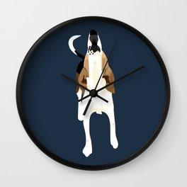Copper Howl Wall Clock