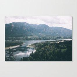 Columbia River Gorge IV Canvas Print
