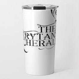 The Krytan Herald Travel Mug
