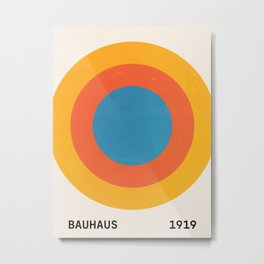 Bauhaus Circles: 1919 Exhibition Metal Print