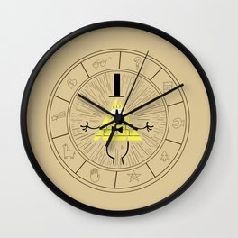 Bill Cipher summoning Wall Clock