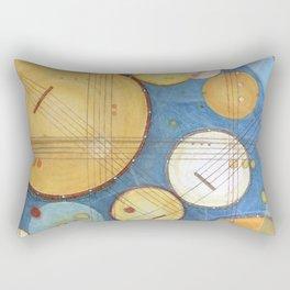 doodling banjos Rectangular Pillow