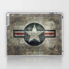 Stylized Tribute of the US Air force Roundel insignia #1 Laptop & iPad Skin