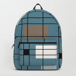 1950's Abstract Art Backpack