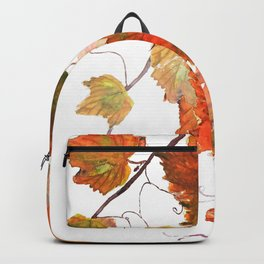orange grapevine 2 Backpack