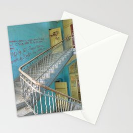 Lost Places, Beelitz Heilstaetten stairs Stationery Cards
