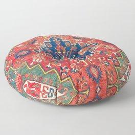 Alpan Kuba East Caucasus Rug Print Floor Pillow