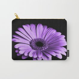 Purple Chrysanthemum Carry-All Pouch