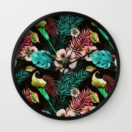 Lithium tropics Wall Clock